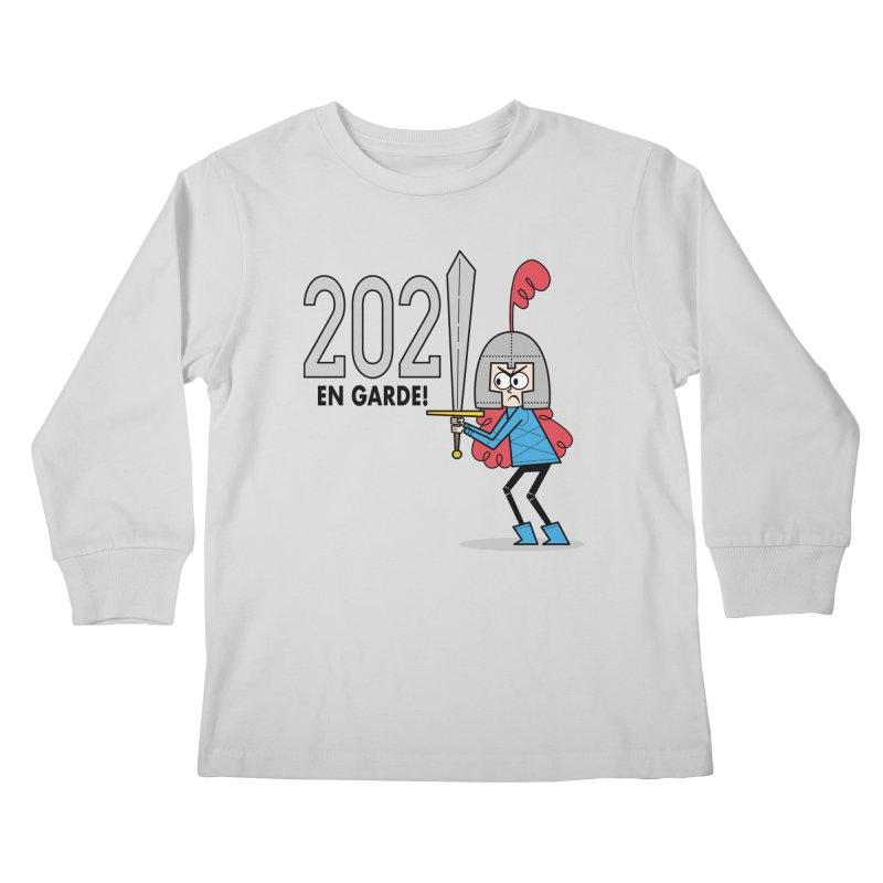 2021 En Garde! Red Knight Kids Longsleeve T-Shirt by