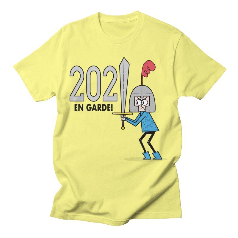 2021 En Garde! Blue Knight Men's T-Shirt by