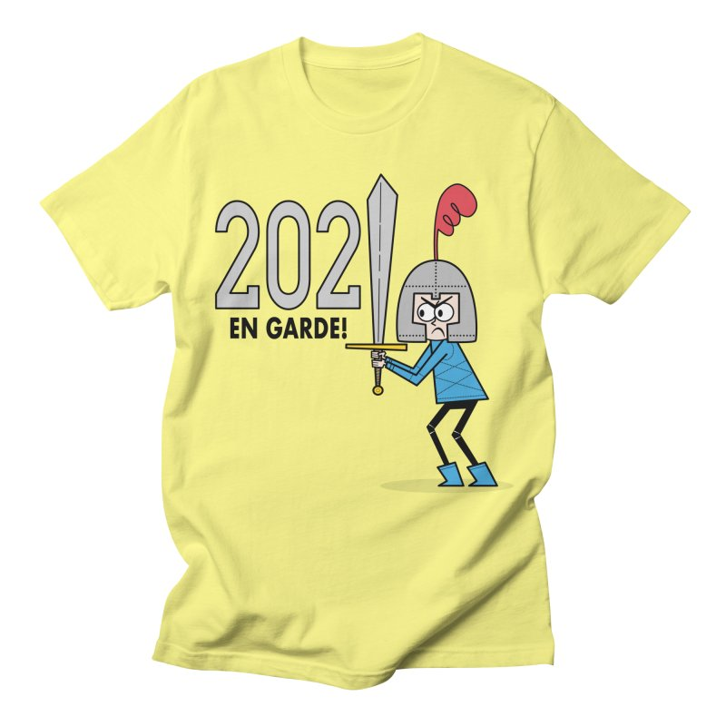 2021 En Garde! Blue Knight Men's T-Shirt by