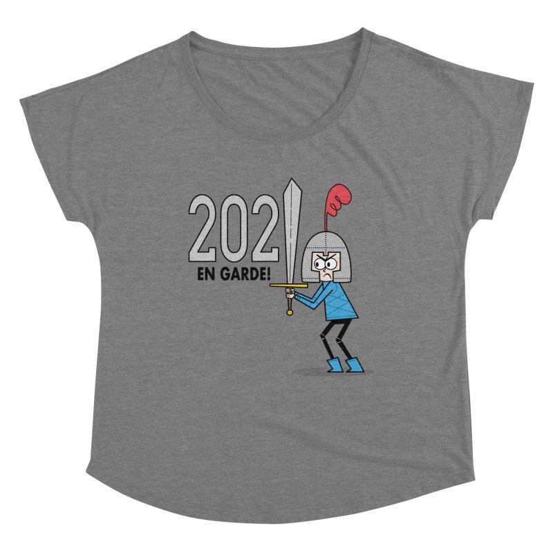2021 En Garde! Blue Knight Women's Scoop Neck by