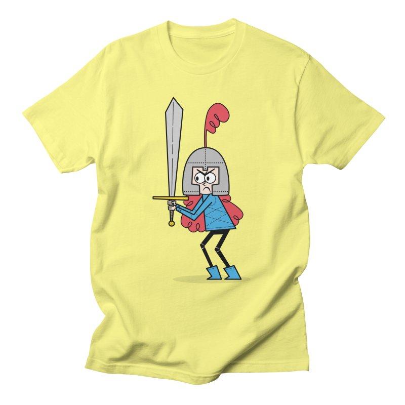 En Garde! Red Knight Men's T-Shirt by