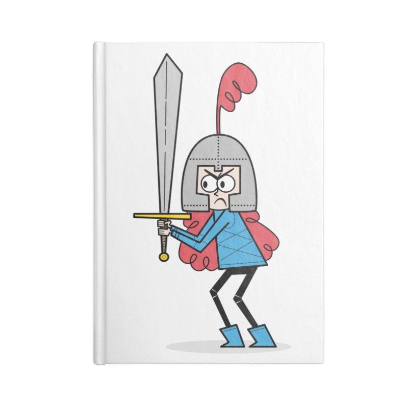 En Garde! Red Knight Accessories Notebook by