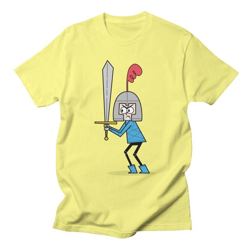 En Garde! Blue Knight Men's T-Shirt by