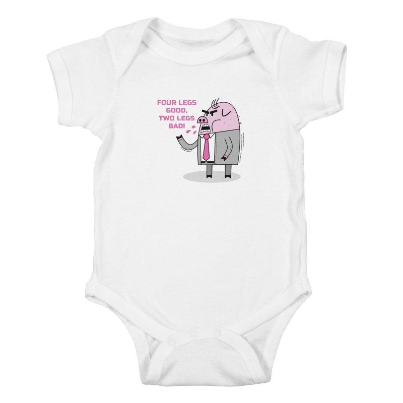 Dystopian Farm Animal Kids Baby Bodysuit by