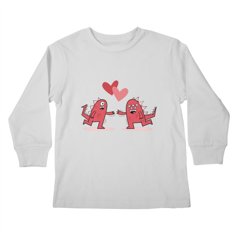 Eyes For You Kids Longsleeve T-Shirt by