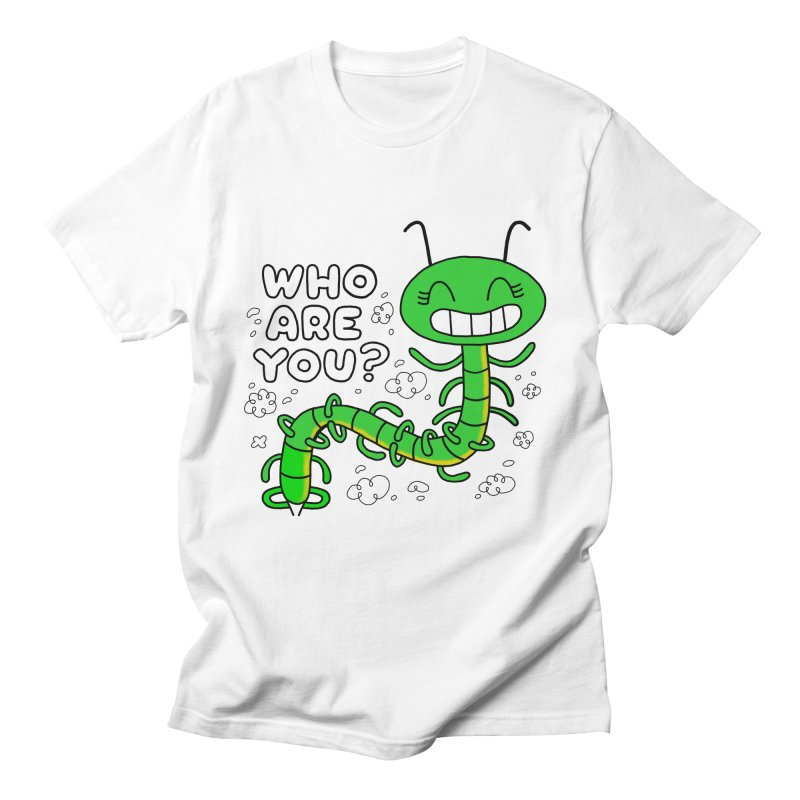 Who Are You? the Caterpillar asked Alice Men's T-Shirt by