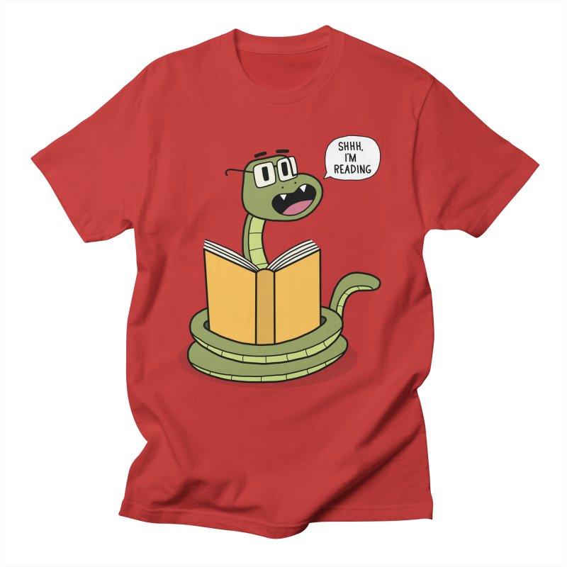 Shhh, I'I'm Reading Men's T-Shirt by