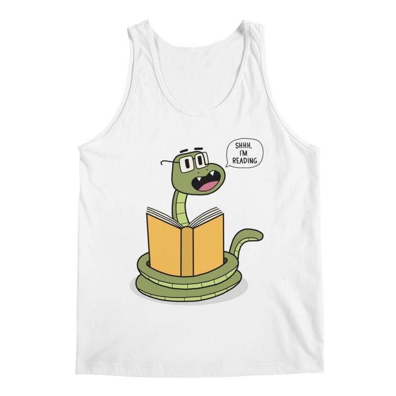 Shhh, I'I'm Reading Men's Tank by