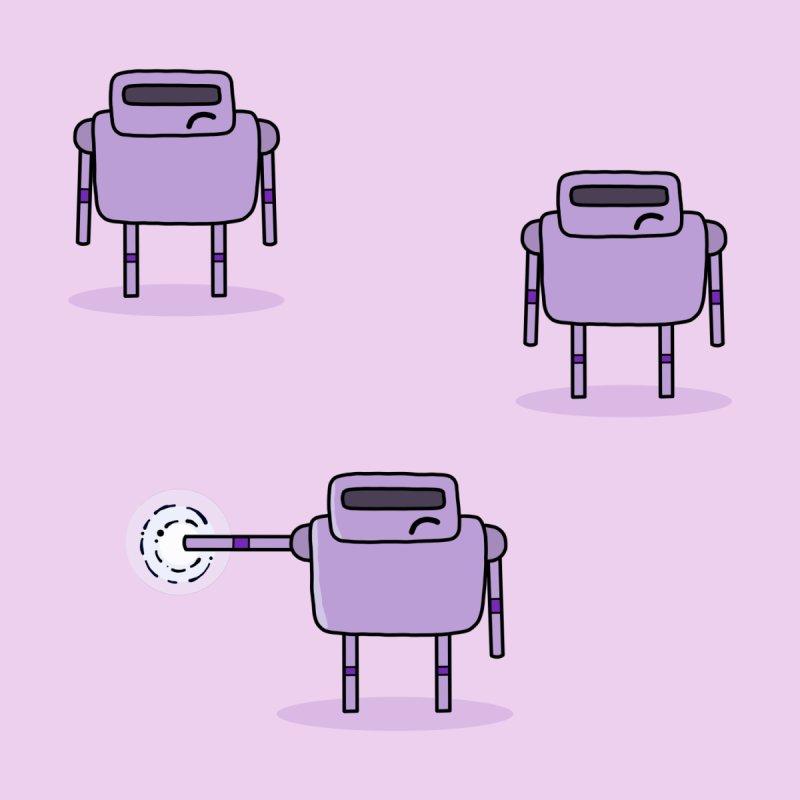Grumpy Robots Kids Pullover Hoody by