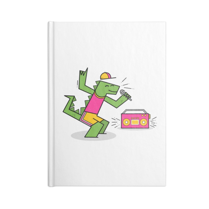 Dinosaur Rap, Prehistoric Party Accessories Notebook by