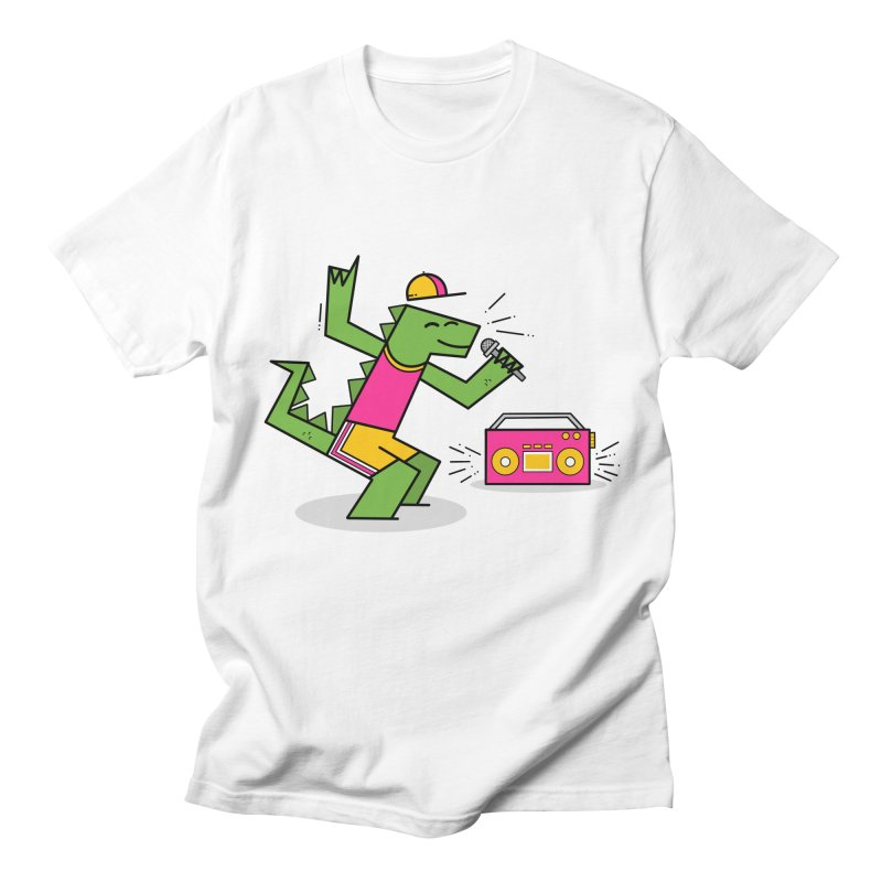 Dinosaur Rap, Prehistoric Party Men's T-Shirt by