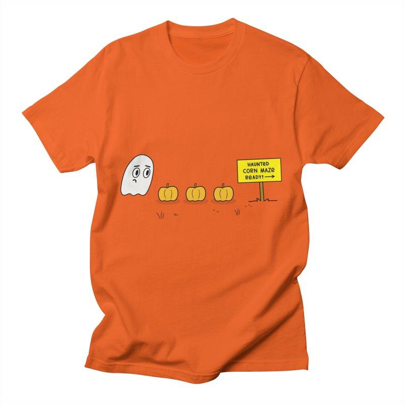Haunted Corn Maze Men's T-Shirt by
