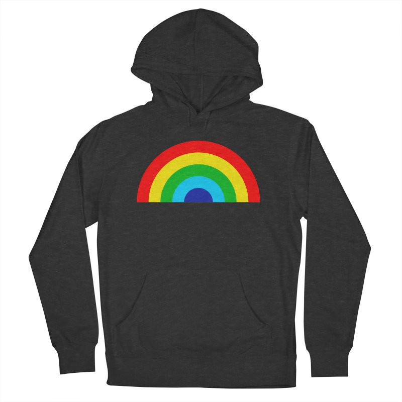 RAINBOW! Men's Pullover Hoody by Andy Pitts Artist Shop