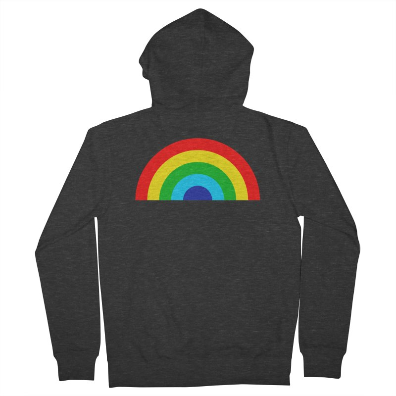 RAINBOW! Women's Zip-Up Hoody by Andy Pitts Artist Shop