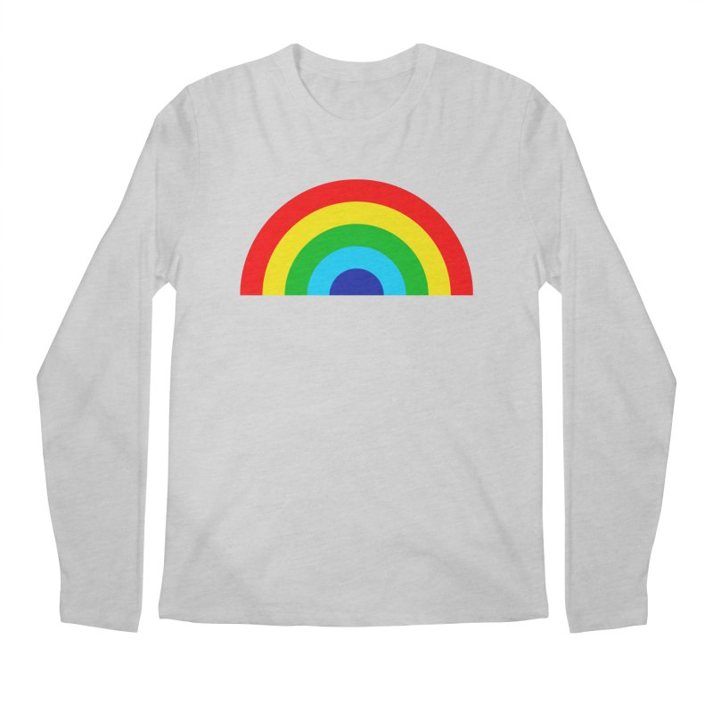 RAINBOW! Men's Longsleeve T-Shirt by Andy Pitts Artist Shop