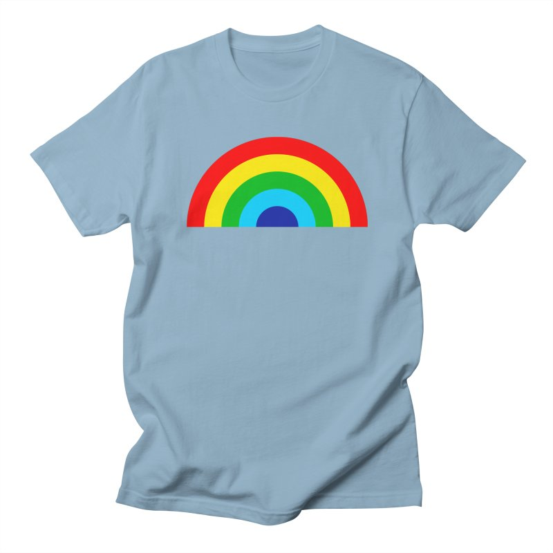 RAINBOW! Men's T-shirt by Andy Pitts Artist Shop