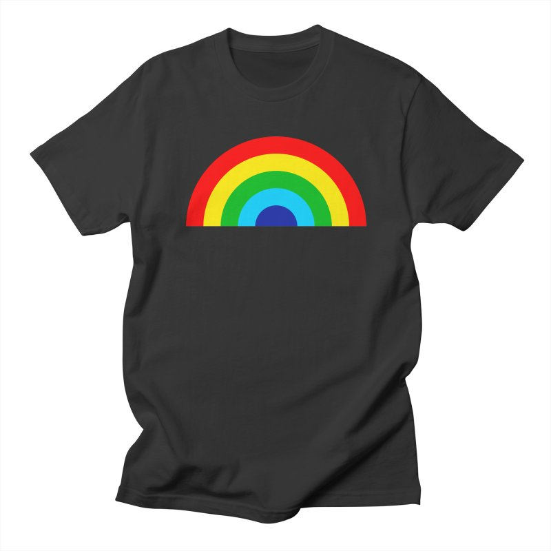 RAINBOW! Women's Unisex T-Shirt by Andy Pitts Artist Shop