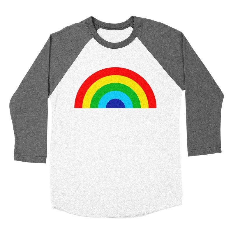 RAINBOW! Men's Baseball Triblend T-Shirt by Andy Pitts Artist Shop