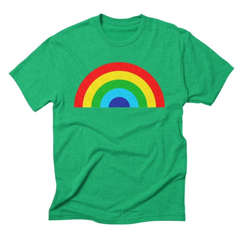 RAINBOW! Men's Triblend T-shirt by Andy Pitts Artist Shop