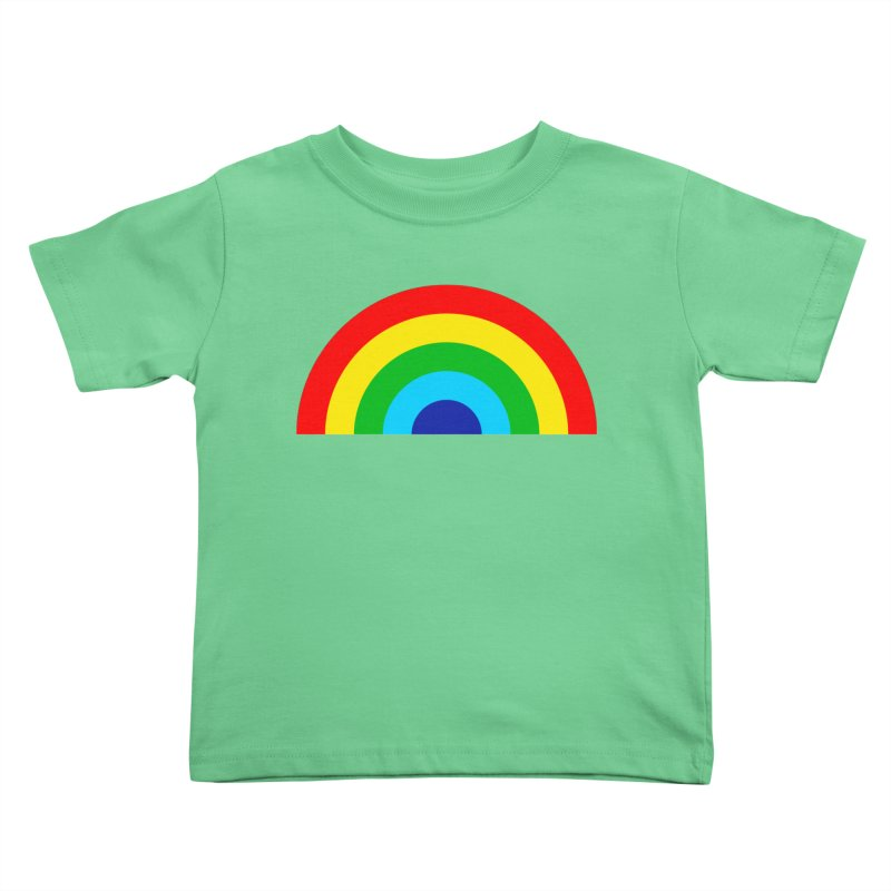 RAINBOW! Kids Toddler T-Shirt by Andy Pitts Artist Shop