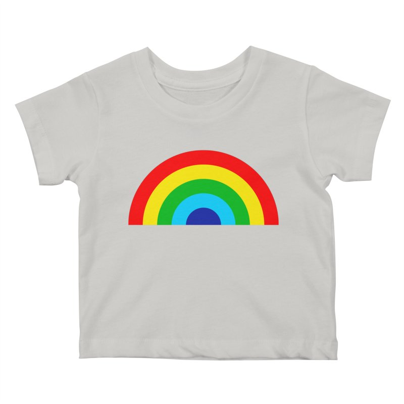 RAINBOW! Kids Baby T-Shirt by Andy Pitts Artist Shop