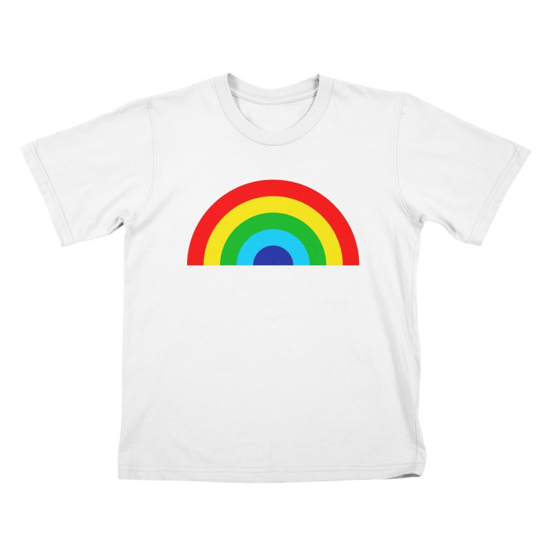 RAINBOW! Kids T-shirt by Andy Pitts Artist Shop