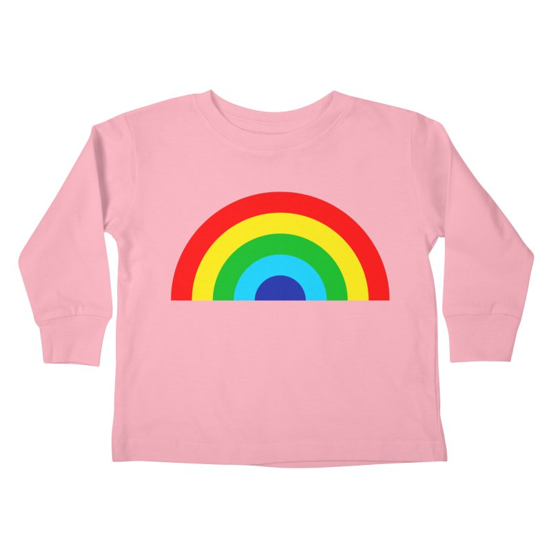 RAINBOW! Kids Toddler Longsleeve T-Shirt by Andy Pitts Artist Shop