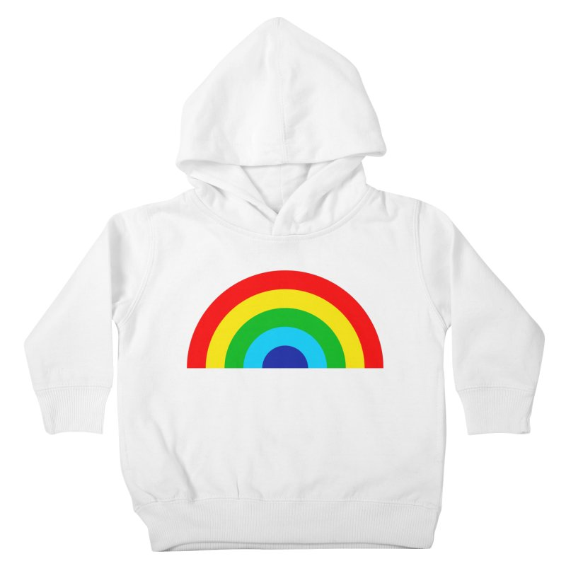 RAINBOW! Kids Toddler Pullover Hoody by Andy Pitts Artist Shop