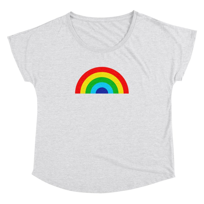 RAINBOW! Women's Dolman by Andy Pitts Artist Shop