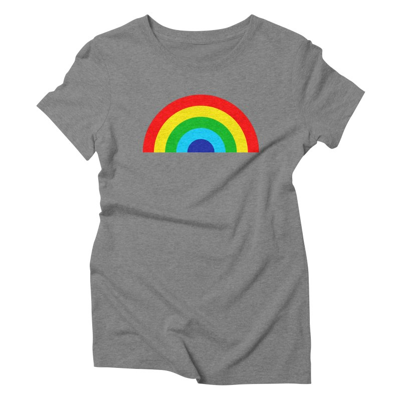 RAINBOW! Women's Triblend T-shirt by Andy Pitts Artist Shop