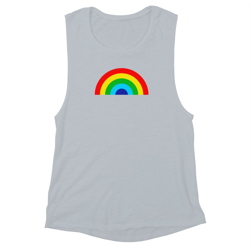 RAINBOW! Women's Muscle Tank by Andy Pitts Artist Shop