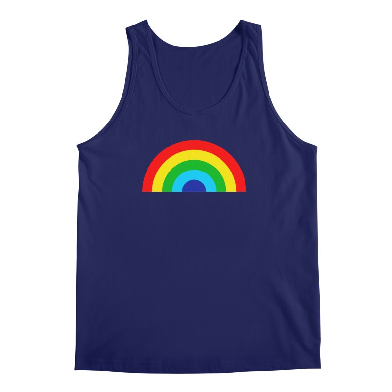 RAINBOW! Men's Tank by Andy Pitts Artist Shop
