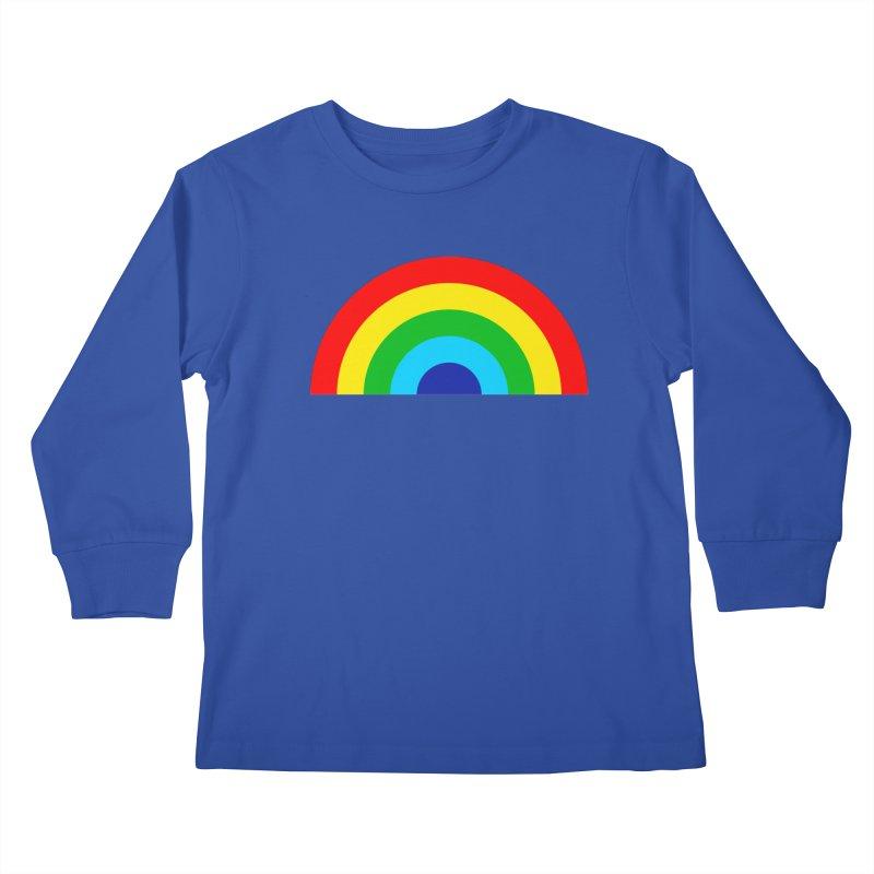 RAINBOW! Kids Longsleeve T-Shirt by Andy Pitts Artist Shop