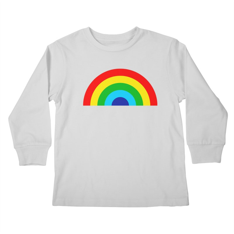 RAINBOW! Kids Longsleeve T-Shirt by Andy Pitts Artist Shop