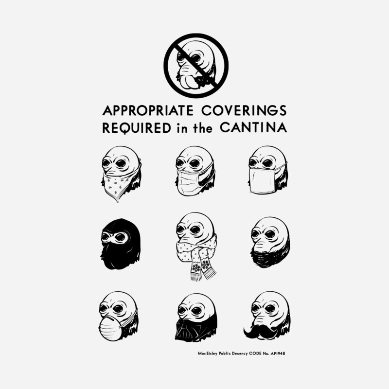 Cantina Rules by Andy Pitts Artist Shop