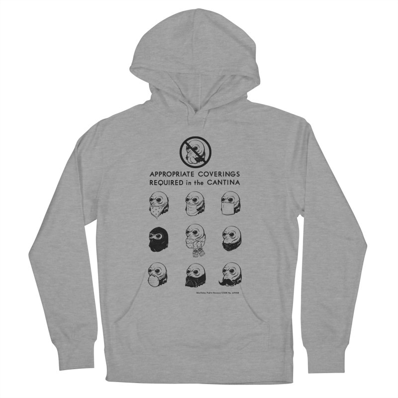 Cantina Rules Women's Pullover Hoody by Andy Pitts Artist Shop