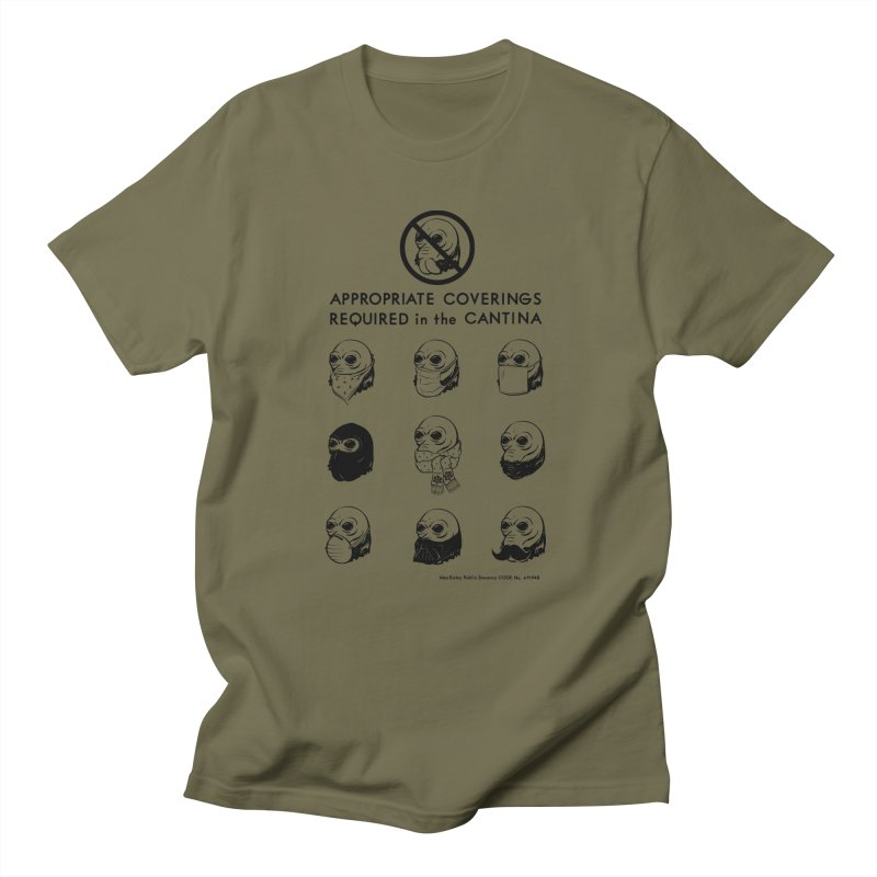 Cantina Rules Men's T-shirt by Andy Pitts Artist Shop