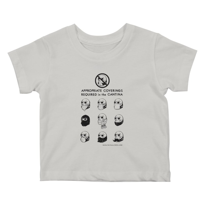 Cantina Rules Kids Baby T-Shirt by Andy Pitts Artist Shop