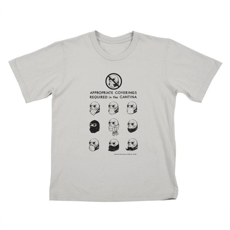 Cantina Rules Kids T-Shirt by Andy Pitts Artist Shop