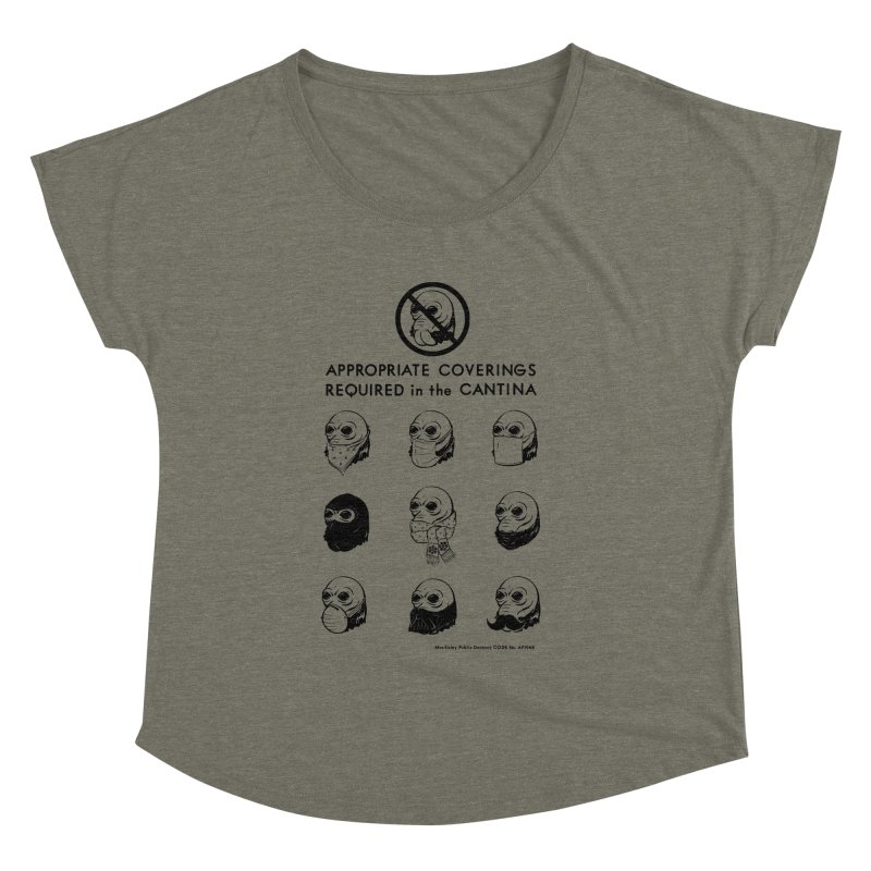 Cantina Rules Women's Dolman by Andy Pitts Artist Shop