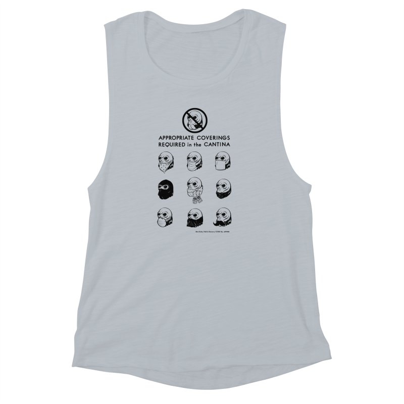 Cantina Rules Women's Muscle Tank by Andy Pitts Artist Shop