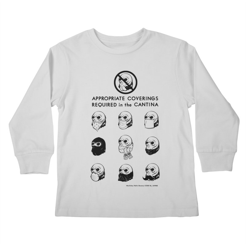 Cantina Rules Kids Longsleeve T-Shirt by Andy Pitts Artist Shop