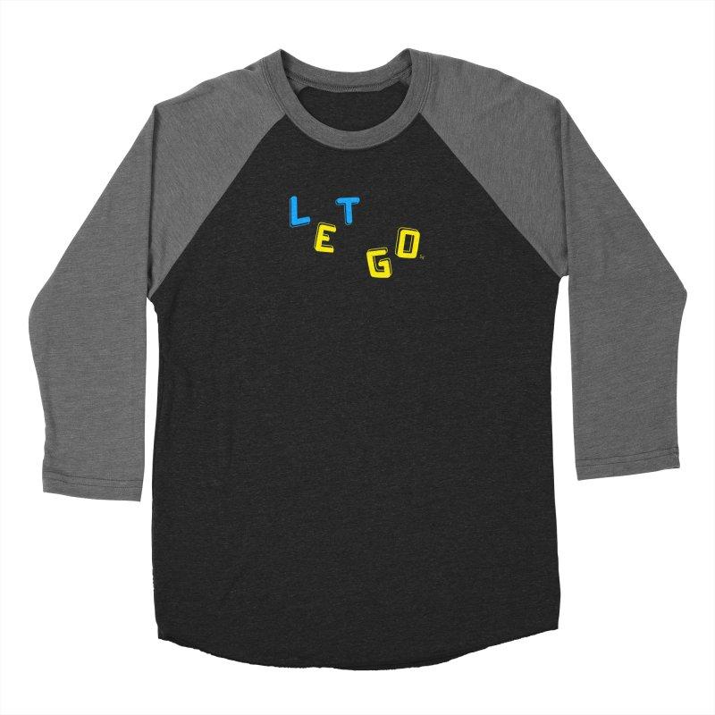 Let Go Men's Baseball Triblend Longsleeve T-Shirt by No Agenda by Andy Rado