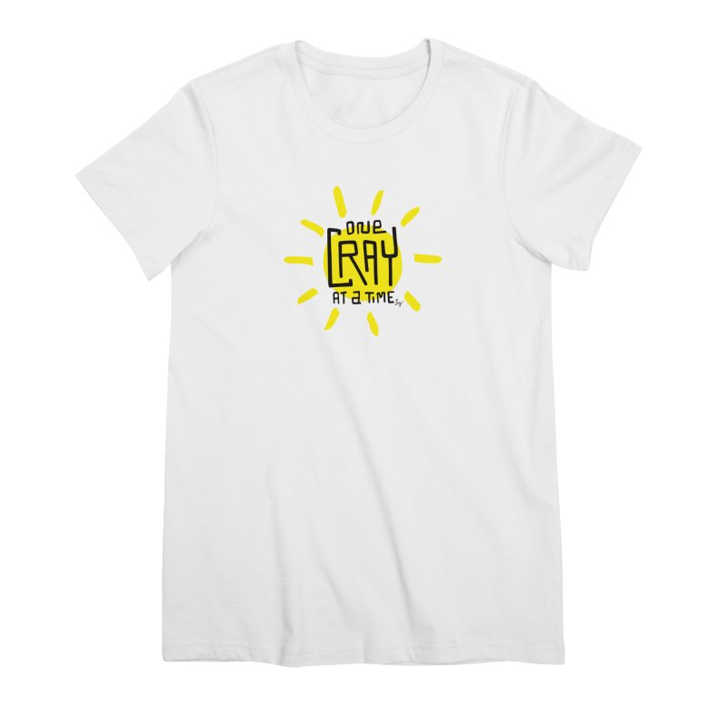 One Cray at a Time Women's Premium T-Shirt by No Agenda by Andy Rado