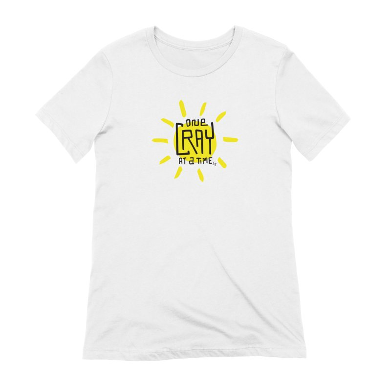 One Cray at a Time Women's Extra Soft T-Shirt by No Agenda by Andy Rado
