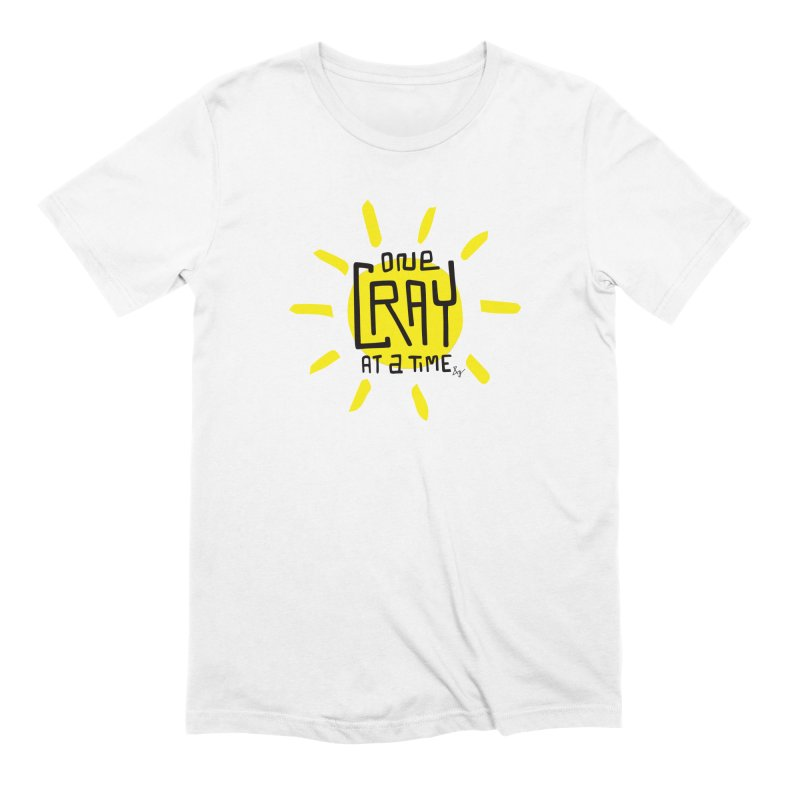 One Cray at a Time Men's T-Shirt by No Agenda by Andy Rado