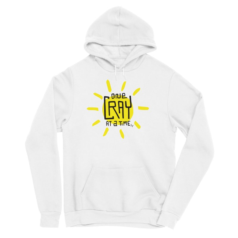 One Cray at a Time Men's Sponge Fleece Pullover Hoody by No Agenda by Andy Rado