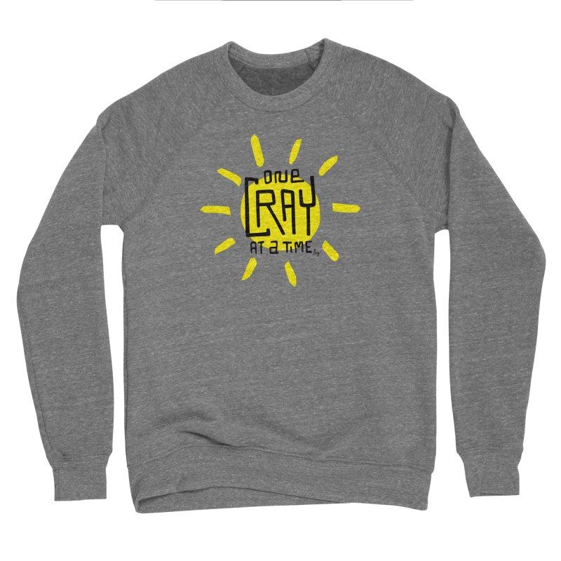One Cray at a Time Men's Sponge Fleece Sweatshirt by No Agenda by Andy Rado