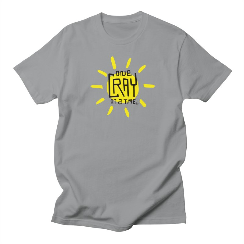 One Cray at a Time Men's Regular T-Shirt by No Agenda by Andy Rado