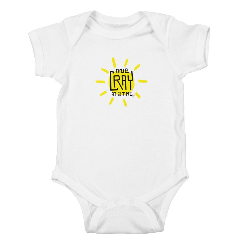 One Cray at a Time Kids Baby Bodysuit by No Agenda by Andy Rado